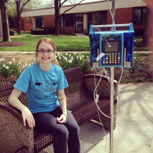MY very first IVIG April 2015